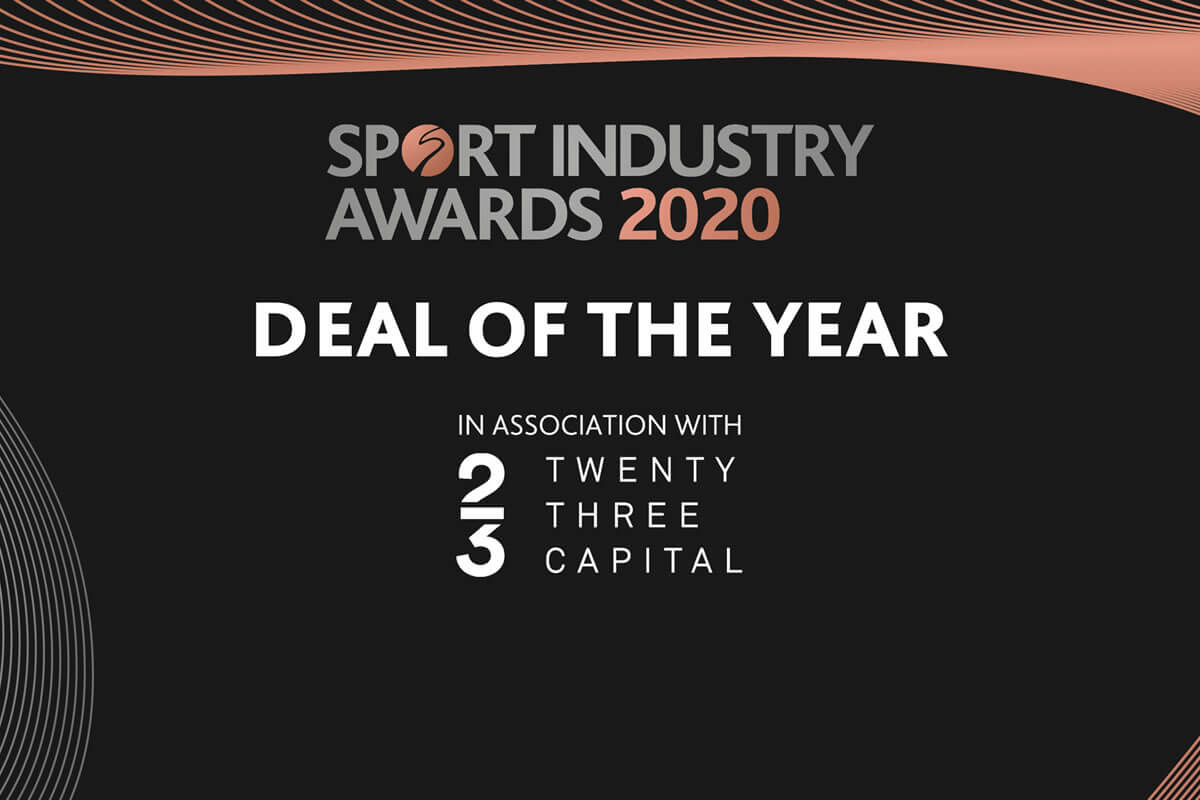 Sports Industry Awards 2020 - Deal of the Year