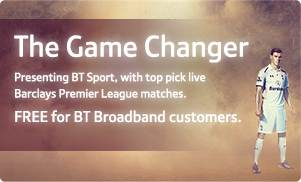The Game Changer – FREE for BT Broadband customers