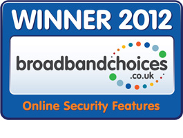 Winner uswitch.com – Best broadband 2013 awards