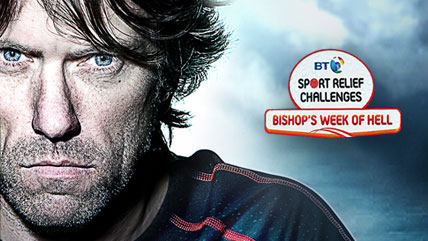 Sport relief – Bishop's week of hell