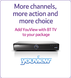 Add TV to your package