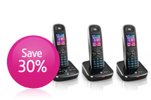 Landline phones. BT Aura Save 30% off RRP