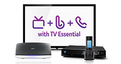 Add TV Essentials to your existing package for £4 a month