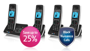 BT6500 Phone. Block Unwanted Calls. Save 25%