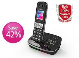 BT8500 Phone. Block up to 100% of nuisance calls