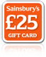 Sainsburys £25 Gift Card