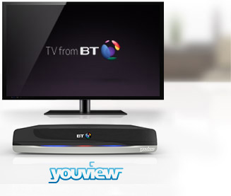 YouView+ set top box