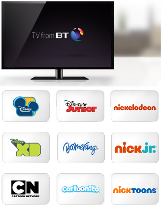 TV from BT – Kids Extra