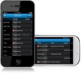 Youview record app, available on iPhone and Android