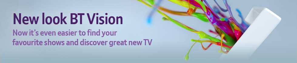 New look BT Vision