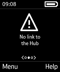 No link to the Hub