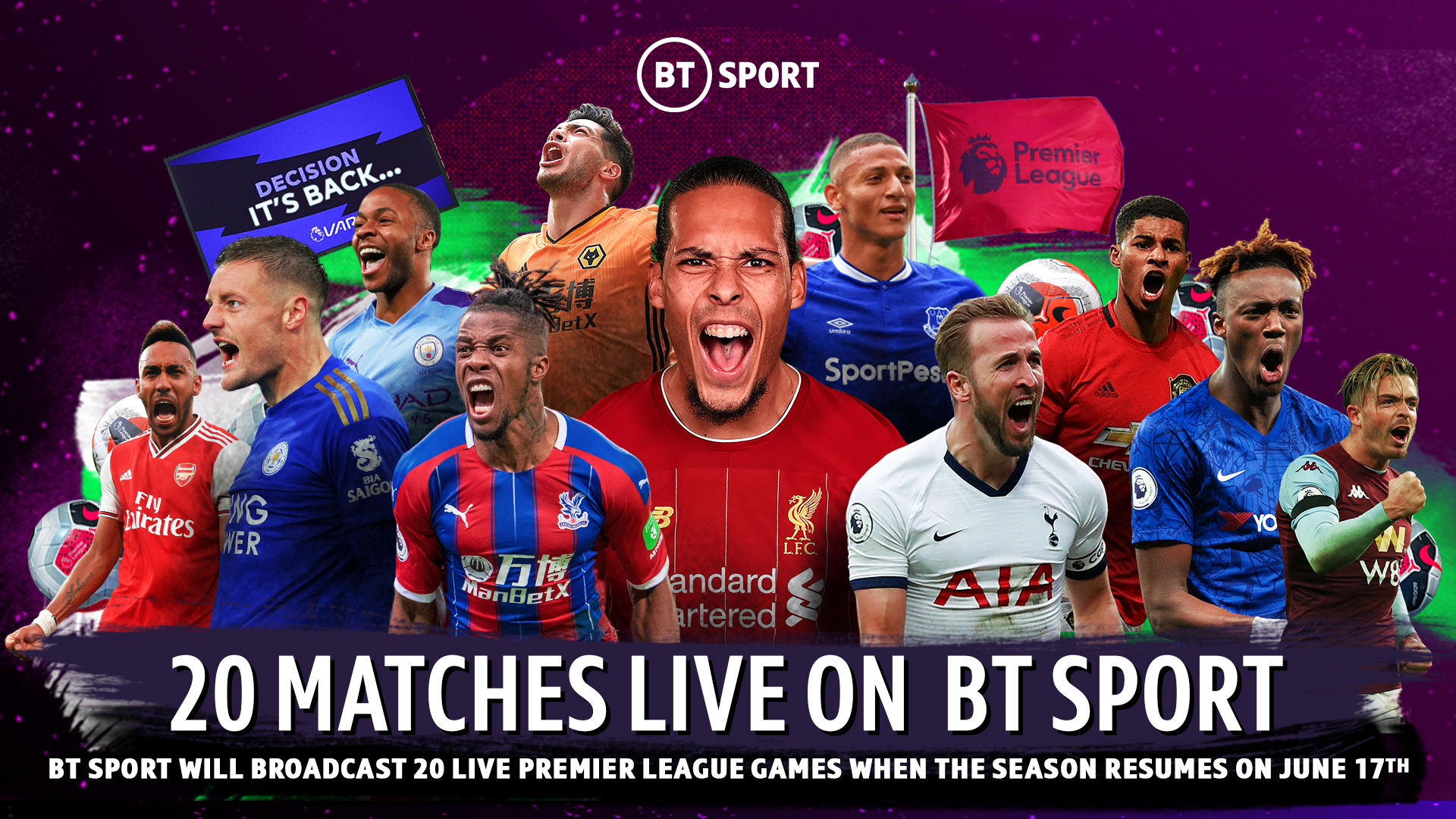 Premier League: Watch all the games for half the price on BT TV | BT Sport