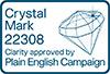 Crystal mark logo